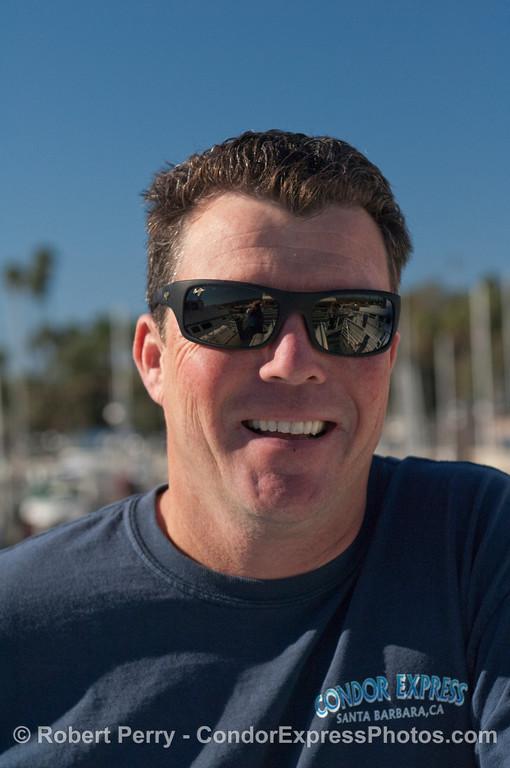 Dave Beezer, Second Captain, Condor Express.