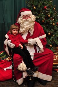 Anya & Santa