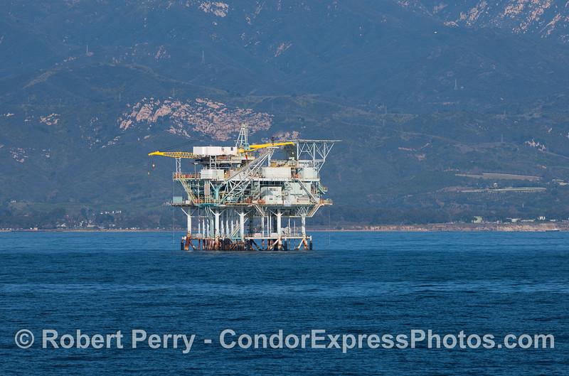 Oil platform Henry.