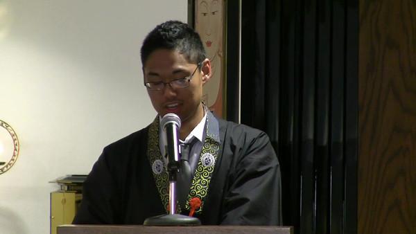 Matt Hamasaki Dharma Talk at 2010 College Conference