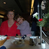 Lunch on the Coast Starlight - photo by NLK