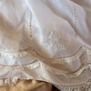 Pretty details on Ellen's baptism gown