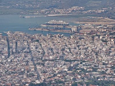 View from Makrinitsa