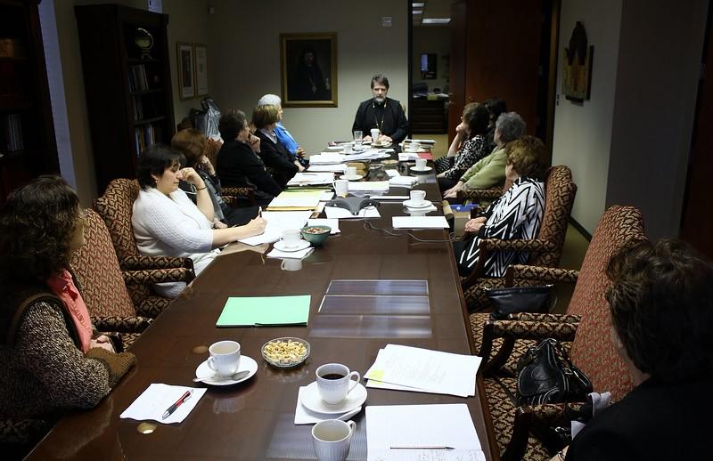 Philoptochos Meeting 3-12.JPG