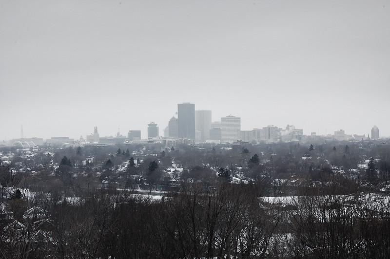 The city from the park