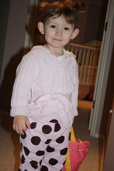 01 Chloe's 1st Day of School