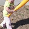 January 27, 2010 - Anna plays t-ball!