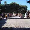 A street market in Loreto.