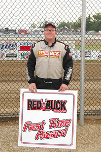 Jason Feger was the Red Buck Cigars Fast TIme Winner