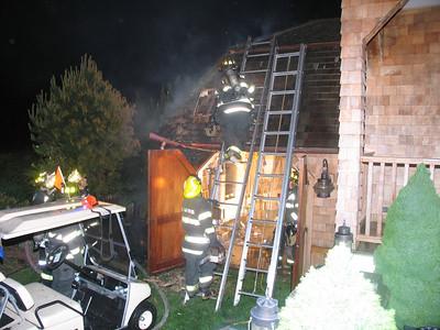 5/27/10 Old Fenwick Rd Fenwick Structure Fire