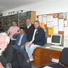Some of the people who brought the Top 300 to you: [rear] Peter Keith, Bev Haberecht facing Peter, Kay Skein, Scott Chambers, David Font and Geoff Jacobson and at the table Rolf Peters