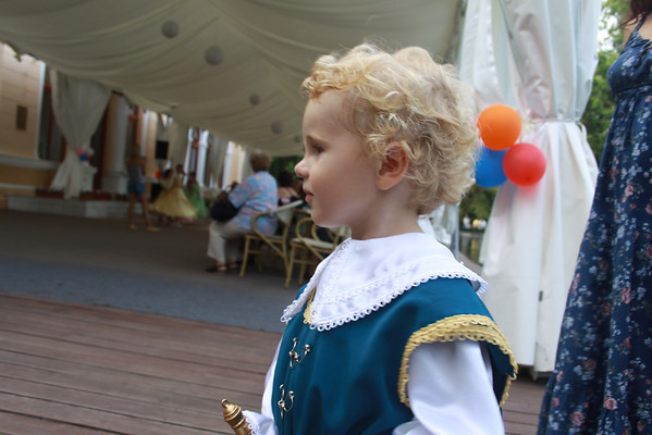 A musketeer profile