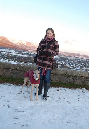 A walk in the snow to Stirling Castle 25/11/2010