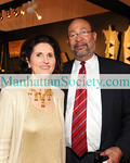 NEW YORK-JANUARY 20: Lynda Johnson Robb, Dick Parsons attend The American Antiques Show 2010 Gala Preview Benefit for The American Folk Art Museum on Wednesday, January 20, 2010 at Metropolitan Pavillion, 125 West 18th Street in Chelsea, New York City (PHOTO CREDIT:  ©Manhattan Society.com 2010 by Gregory Partanio)