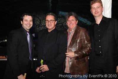 Ken Crouch, Ignatius Jones, Eamon D'arcy and Aneurin Coffey