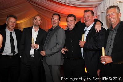 Matt Ball, Tony Daroczy, Iain Morrison, Brendan Gill, Scott Saunders and Mark Henderson