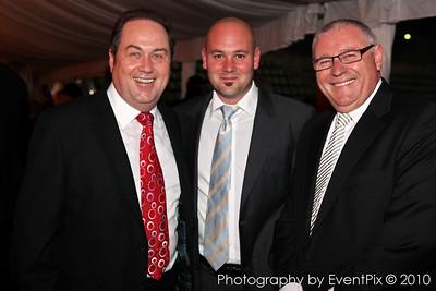 Michael Collins, Paul Valenti and Matthew Valenti