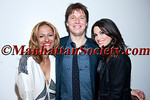 """NEW YORK-APRIL 22:Anisha Ahooja Lakhani, Joshua Bell, Kimberly Ann Guilfoyle attend  ALEXANDER CHARRIOL """"HUMAN FLOW"""" Exhibit Opening Reception on Thursday April 22, 2010 at pop-up gallery at 4 East 27th street (between 5th & Madison Avenues), New York City, NY (PHOTO CREDIT: ©Manhattan Society.com 2010 by Christopher London)"""