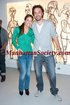"""NEW YORK-APRIL 22: Dylan Lauren, Alexander Charriol attend ALEXANDER CHARRIOL """"HUMAN FLOW"""" Exhibit Opening Reception on Thursday April 22, 2010 at pop-up gallery at 4 East 27th street (between 5th & Madison Avenues), New York City, NY (PHOTO CREDIT: ©Manhattan Society.com 2010 by Christopher London)"""