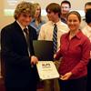 Mentor and Thomas Moran with Diploma