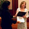 Ellie Carney and Diploma with Bernadine
