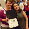 Katie Javorsky and Mara Clawson with Diploma