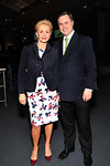 Carolina Herrera and Museum's Chief Philanthropy Officer Peter Lyden.