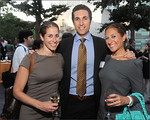 Co-chairs Lori and Zachary Pomerantz with Sherri Toub