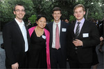 Jenny Kim Park and HSBC summer associates