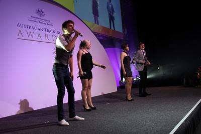 Stephen Pagett, Anja Nissen, Susan Jon Rose and Liam Cooper