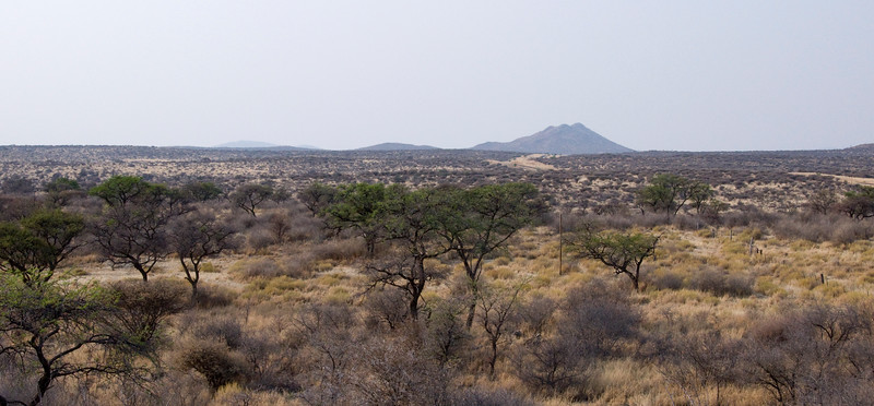 View from Hohe Warte Gaestefarm, Nambia