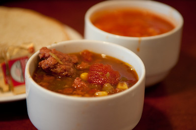 Green chile stew and posole