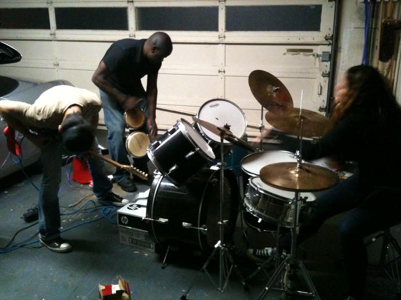 <b>garage rock</b> <br>San Bruno, CA <br>November 13, 2010