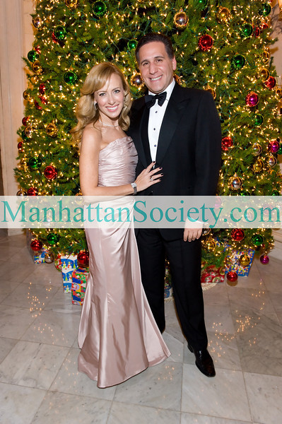 Lisa Resling Halpern, Nikos Notias attend American Scandinavian Society's 2010 Christmas Ball on Friday, December 3, 2010 at The Metropolitan Club, 1 East 60th Street New York City, NY  (PHOTO CREDIT: ©Manhattan Society.com 2010 by Gregory Partanio)