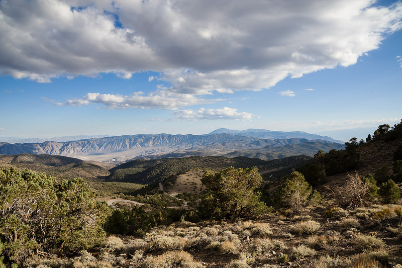 Deep Springs valley and the Inyo range