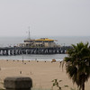 The Santa Monica Pier - angeblich kann man hier auch angeln...