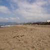 Blick nach Venice Beach und Malibu