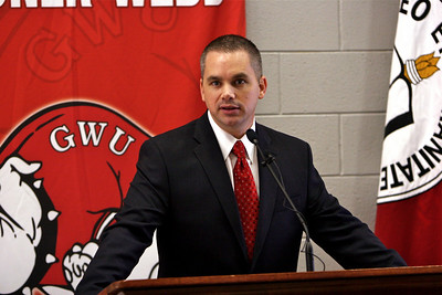 Chris Holtman named the new Men's Basketball Coach; April 22, 2010.