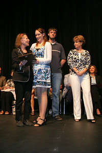 Student Leadership, Service, & Volunteerism Awards Ceremony in Dover Theater; April 27, 2010.