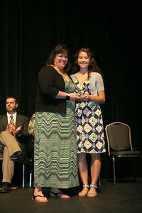 Student Leadership, Service, & Volunteerism Awards Ceremony in Dover Theater; April 27, 2010.
