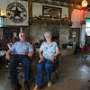 Just like home: Jerry and Patty Yates sit in their Yates' Station Friday afternoon.