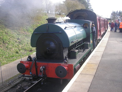 Northampton & Lamport Railway, 4 April 2010