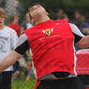 Sky's the limit: Terre Haute South discus thrower Aaron Sullivan competes in Friday's South Invitational track meet.