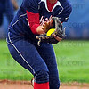Good hands: Danielle Ketner gloves a pop fly in the Patriots' game with visiting Mooresville Friday night.