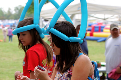 The 5th Annual Spring's Alive Festival at Gardner-Webb University, on the Lake Hollifield Complex.