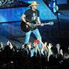 Give that man a hand: Jason Aldean performs for the Hulman Center sellout.