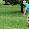 Green golf: West Vigo's Stephen Engles hits a shot during Saturday's South Invitational at Rea Park.