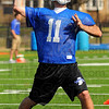 New look: ISU quarterback  Corey Glass throws during Spring practice Wednesday afternoon.