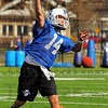 Behind center: Travis Johnson is one of three trying to earn the starting position at quarterback for the Sycamores.