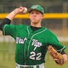 On the mound: Scott West started the game on the mound for West Vigo in their game at North Central.